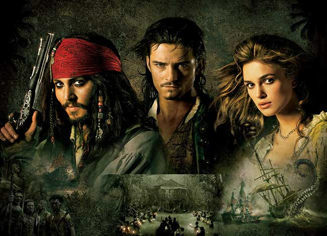 Pirates of the Caribbean - Dead Man's Chest - Period Drama Review Archive