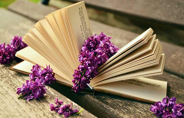 Book and Lilacs Picture from Pixabay