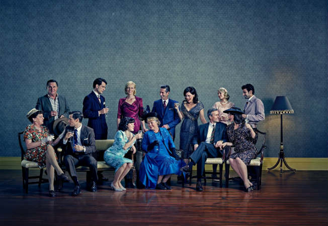The cast of A Place to Call Home Season 3. Photo: Acorn TV/Foxtel
