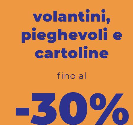 Read more about the article Offerta scioocckkk: Stampa volantini di vari formati con sconti fino al 30% di risparmio