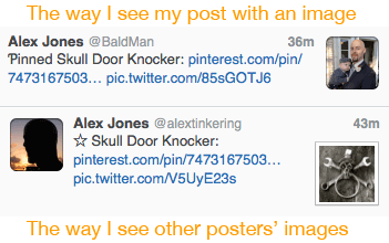 Twitter posts with images in Tweetbot
