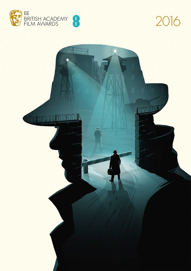 Bridge of Spies - Five posters for BAFTA's Best Film category in 2016