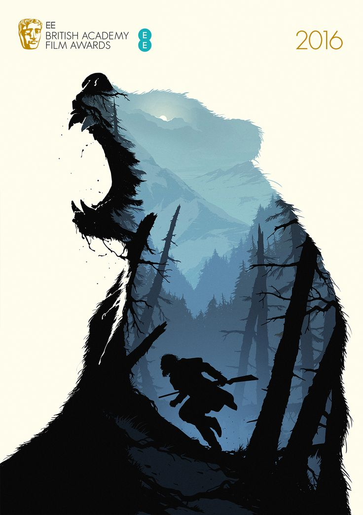 The Revenant - Five posters for BAFTA's Best Film category in 2016