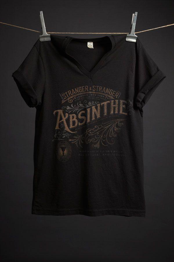 Absinthe T-Shirt by Stranger & Stranger