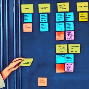 So many pictures of so many Post-Its…