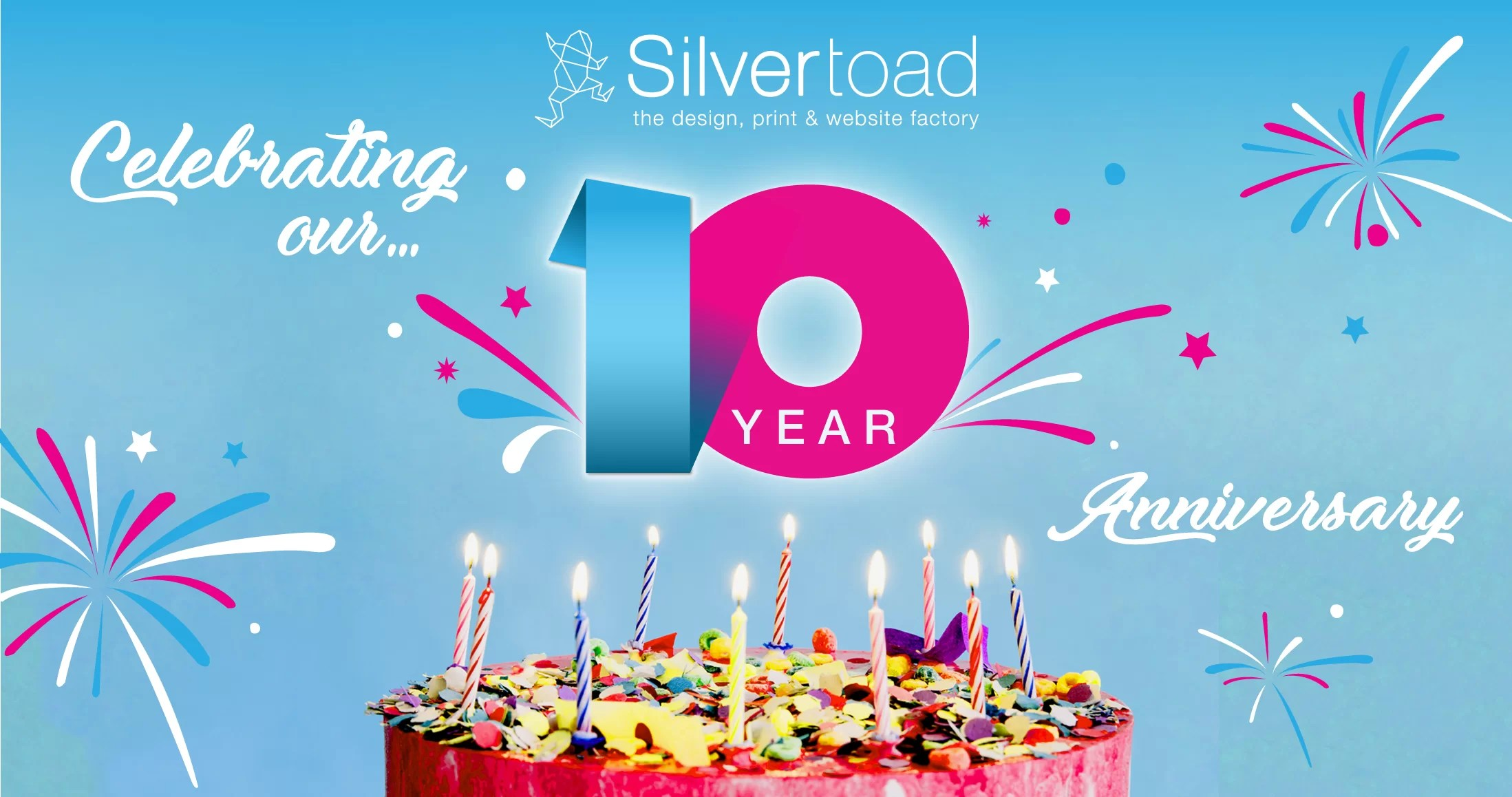 Silvertoad's 10th Year Anniversary + Giveaway!