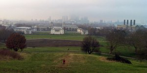 Smog in Greenwich Park - Sunday 17 February, 2013