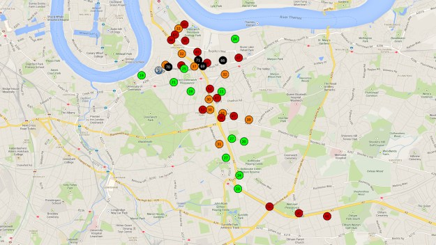 No to Silvertown Tunnel NO2 air pollution monitoring results - June 2013