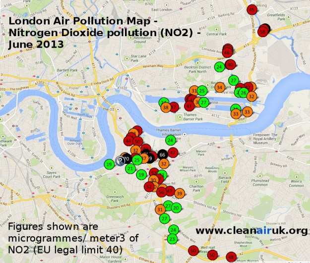 CleanAirUk.org London Programme 2013