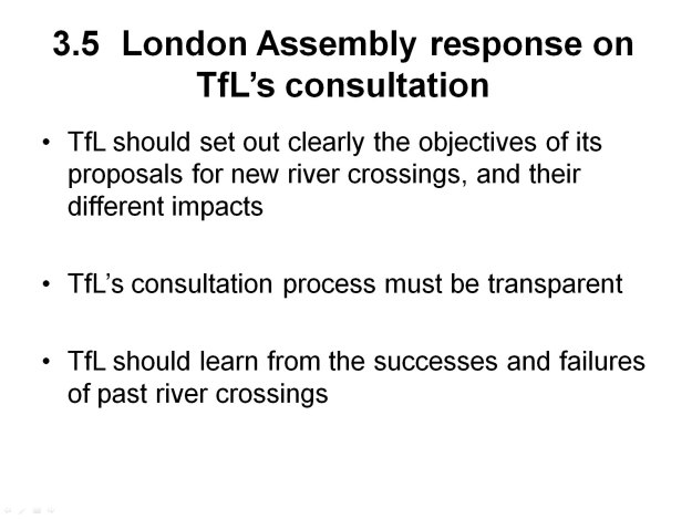 John Elliott on East London River Crossings - Slide 11