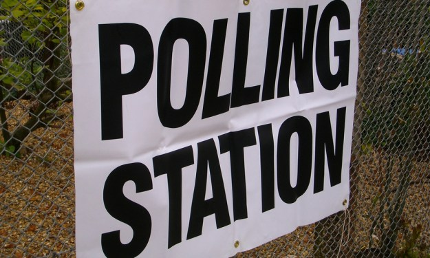 Polling Station by Paul Wilkinson used under Creative Commons licence CC BY 2.0
