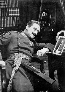 Arthur Holmes-Gore as Duke Michael of Strelsau in The Prisoner of Zenda (1915).