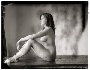 New 55 Test: Nude Figure with Window Light