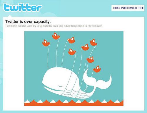 Errores de twitter