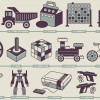 Infografia juguetes y consolas retro