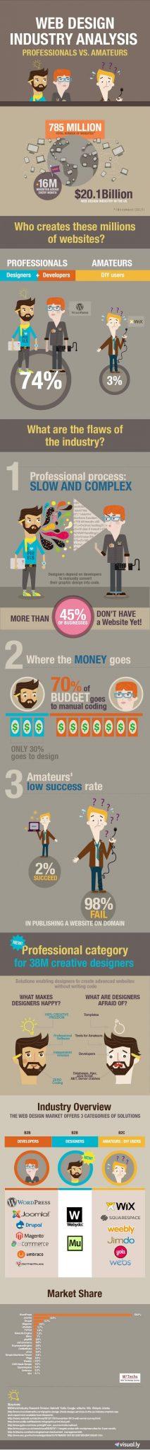 Web Designers - Professionals Vs Amateurs