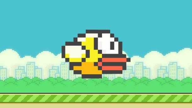 Personaje de Flappy Bird, el adictivo juego para dispositivos móviles.