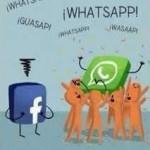 Humor Gráfico: Facebook Vs WhatsApp