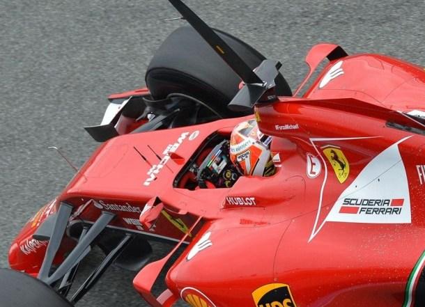 Las posibilidades del nuevo volante de F1 son  infinitas