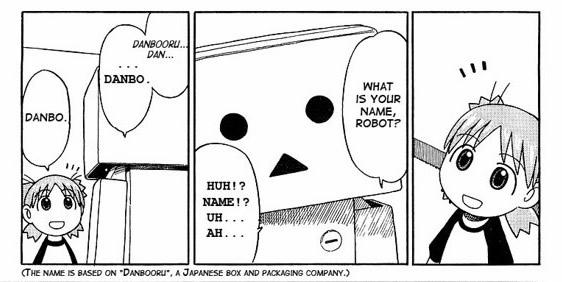 Yotsuba conoce a Danbo