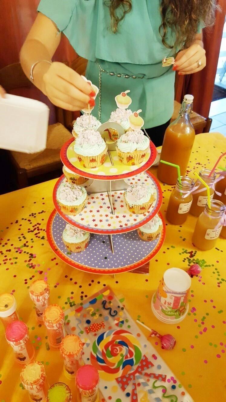 muffin compleanno
