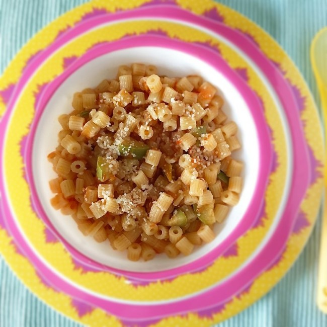 sughetto di pomodoro e verdure