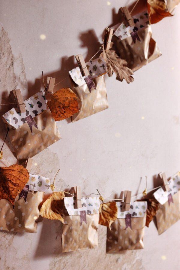 Essicare le erbe aromatiche e come realizzare sacchetti a tema autunnale