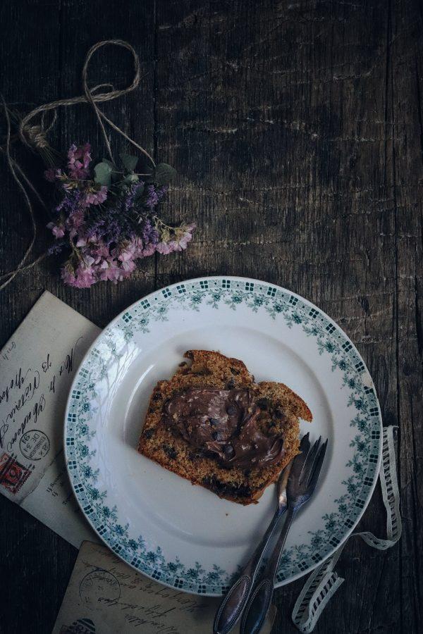Plumcake con marmellata di fichi e cioccolato. Un dolce e racconti di fine estate.