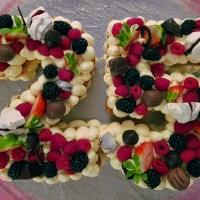 Cream Tart ovvero Number Cake!