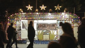 Silvio Palladino Documentary Photography theme park, fortune teller