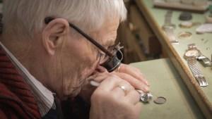 Silvio Palladino Documentary Photography watch repair shop man watchmen