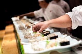 Silvio Palladino corporate event food photographer sushi chef