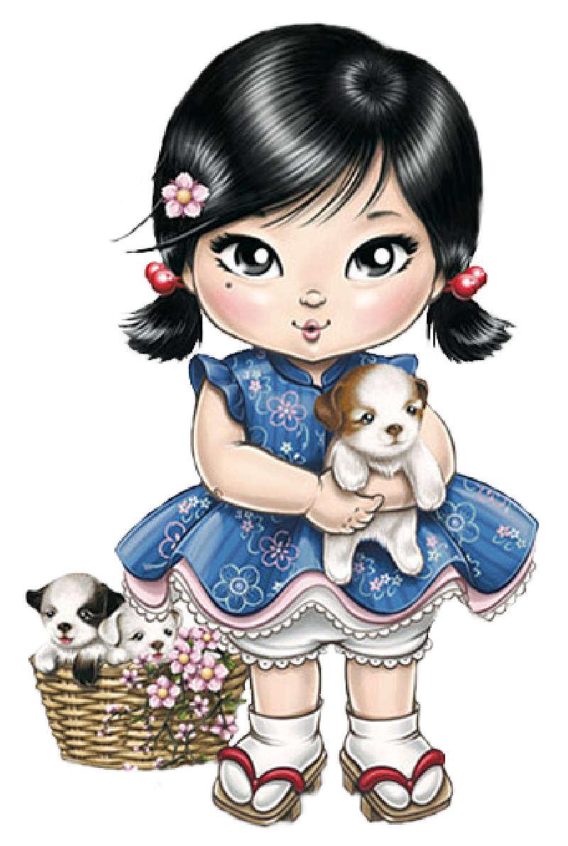 手繪甜美可愛娃娃 @ ♥可愛洋娃娃♥ :: 隨意窩 Xuite日誌