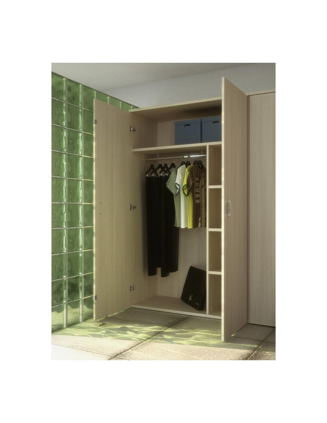 armoire vestiaire avec portes battantes