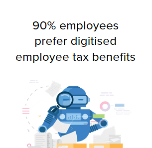 90% Employees prefer Digital Reimbursement Process