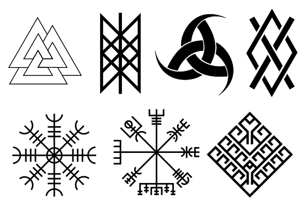 Símbolos vikingos
