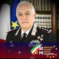 Congratulazioni al nuovo Comandante Generale dell'Arma