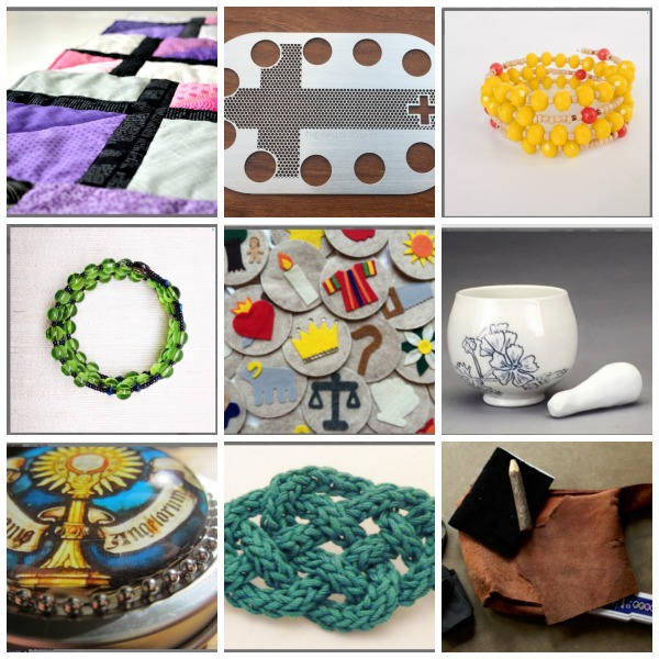Catholics on Etsy, Part 2! Christmas and Advent Gifts for 2016