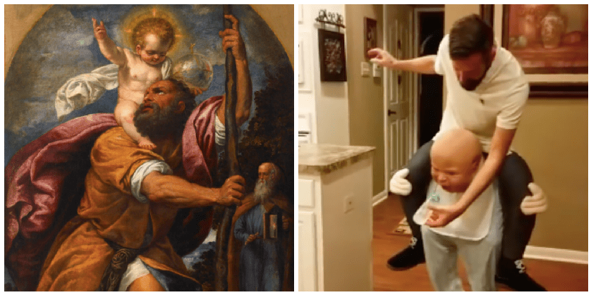 The Headless Bishop (and other Halloween costumes that work for All Saints Day)