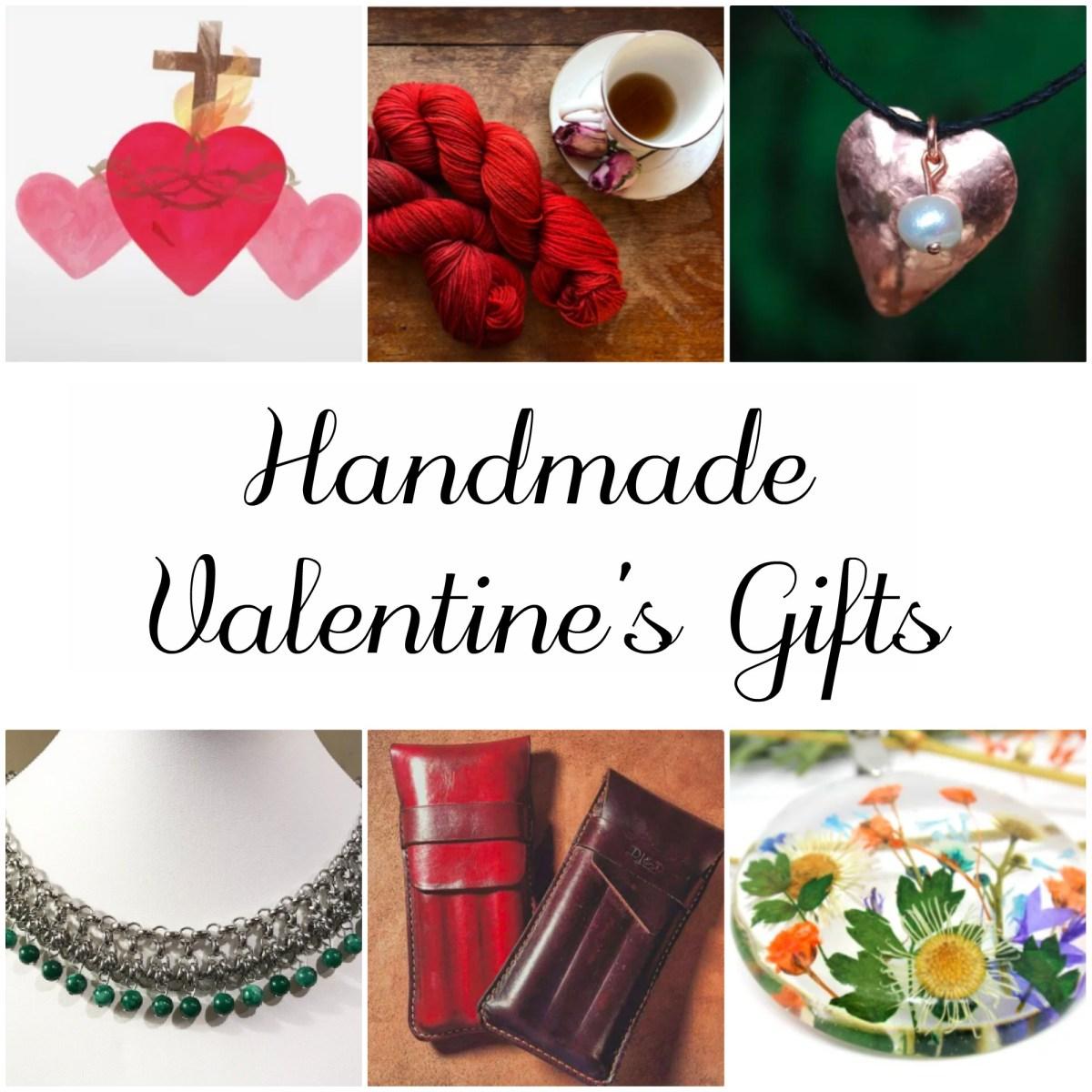 Handmade Gift Guide for Valentine's Day