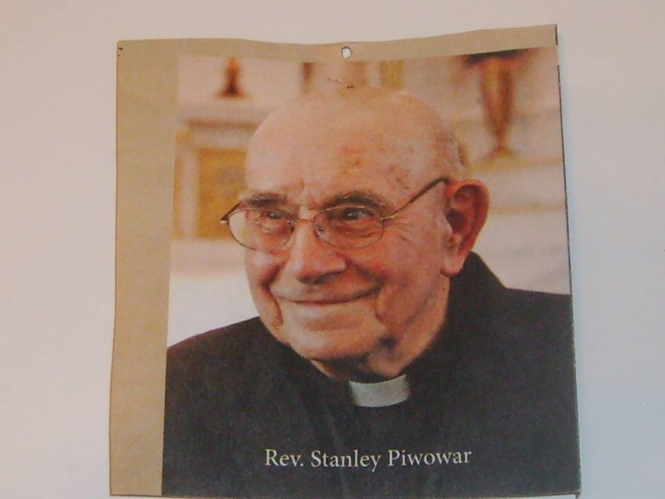 RIP Fr. Stan Piwowar, a priest forever