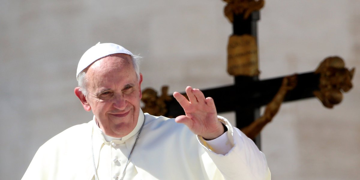 """What does Pope Francis mean by """"embrace?"""""""