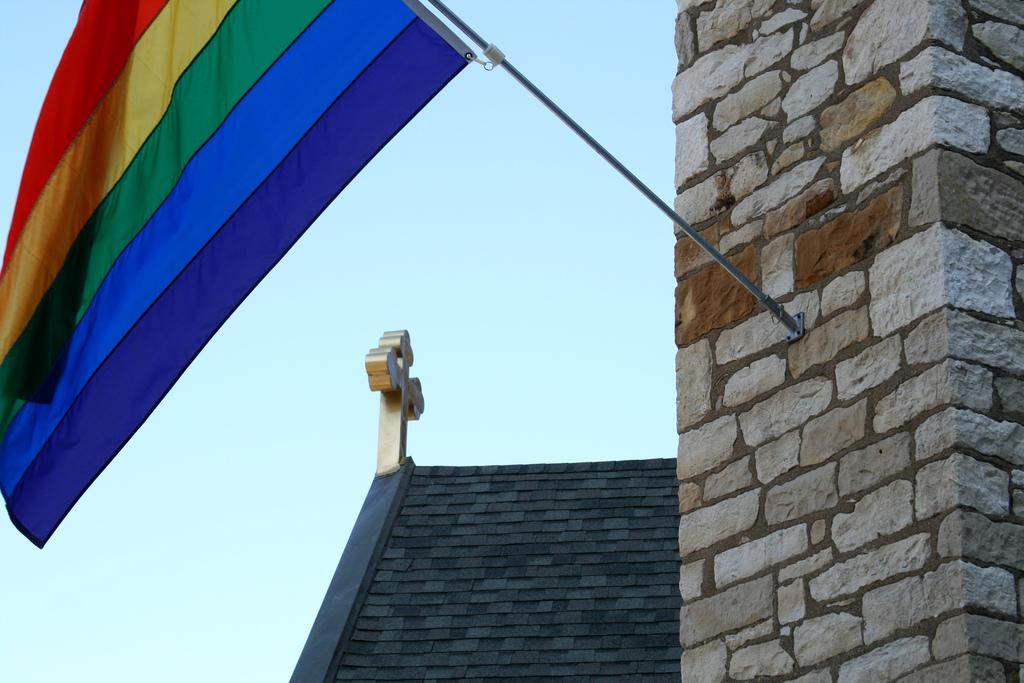 Sunshine, buttercups, and rainbow flags