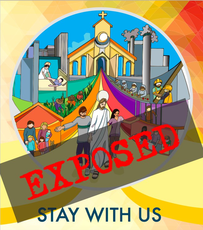 "More like ""gay with us"" in new FrancisChurch hidden ideology graphic outrage, EXPOSED"