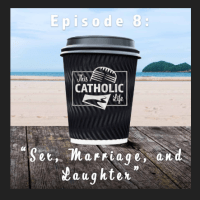 "Damien and I are on ""This Catholic Life"" with Peter Holmes and Renée Köhler-Ryan"