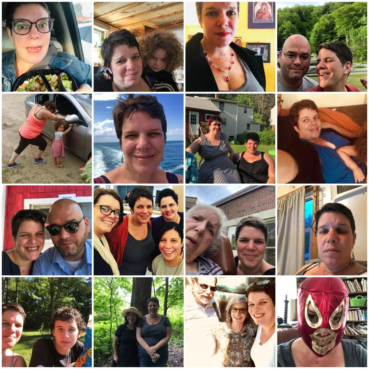 Healing vanity and self-loathing through selfies