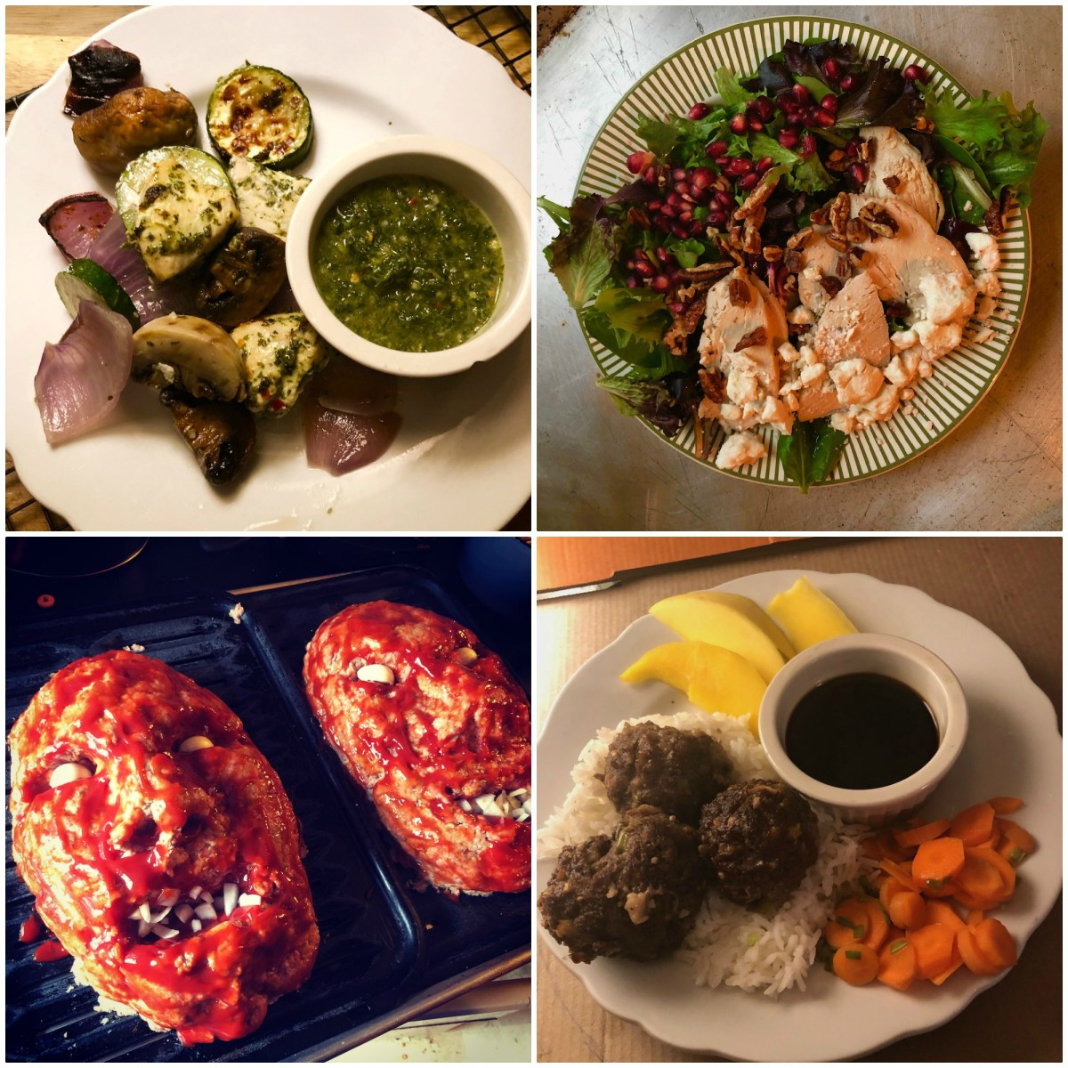 What's for supper? Vol. 191: Chimichurri! Korean meatballs! Pomegranate salad! Challah! And more