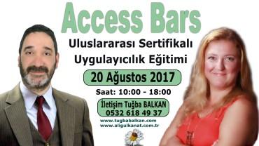 ACCESS BARS Uygulayıcılık Eğitimi – 20 Ağustos 2017 – İSTANBUL
