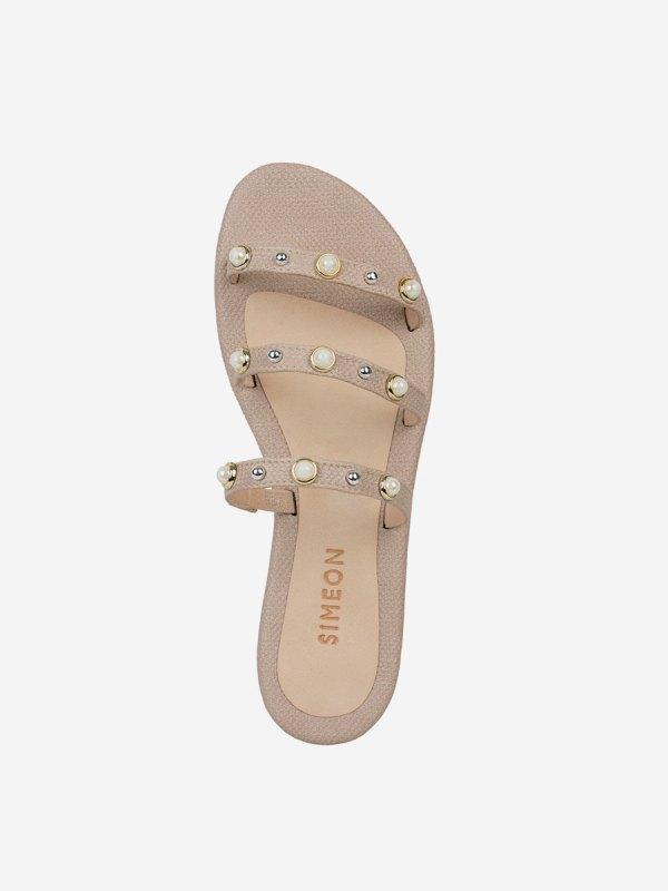 Carlyna03, Todos los zapatos, Sandalias, Sandalias Planas, BEI_S