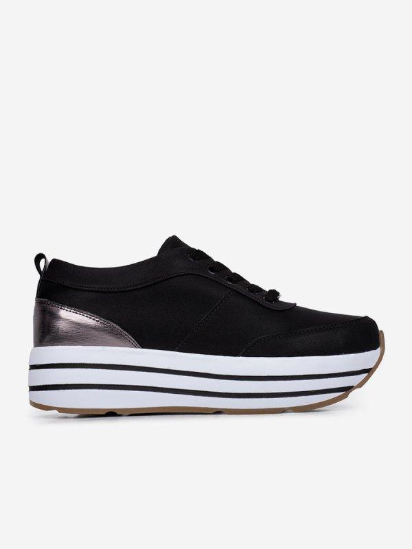 Chanela03, Todos los zapatos, Tenis, Deportivos, AZULXPLATA_ L